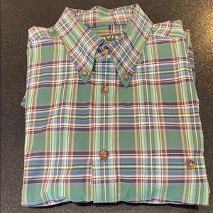 Orvis cotton plaid button down